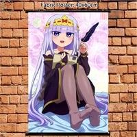 Anime affiche Maoujou de Oyasumi princesse douce fille mur defilement art 60x40cm Art imprime chambre decoration de la maison