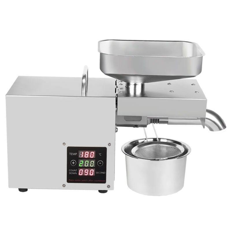 110V/220V adjust temperature automatic cold press oil machine, oil cold press machine, sunflower seeds oil extractor, oil press недорого