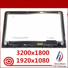 "Original para HP Envy 13-AB 13,3 ""montaje de pantalla lcd no táctil LTN133YL04 N133HCE GP1 QHD o FHD con marco"