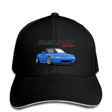 hip hop Baseball caps Fashion Cool hat MX 5 Miata (blue) Customized Printed snapback