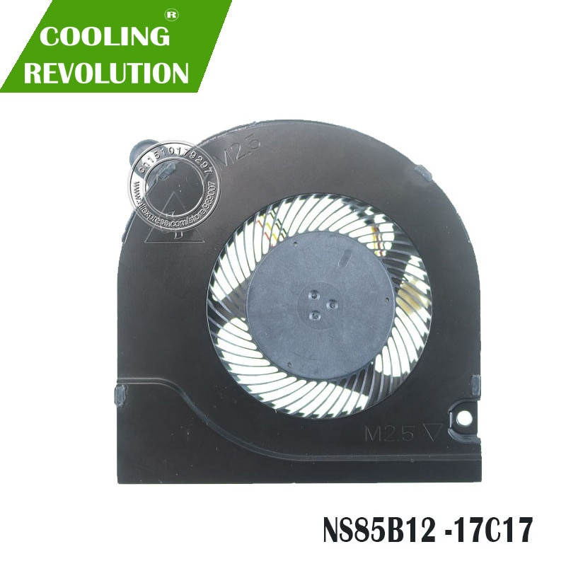 Laptop CPU Cooling Fan NS85B12 DC05V 0.50A -17C17 4PIN DC28000KAD0 TIA8 01 84D 000 09B0