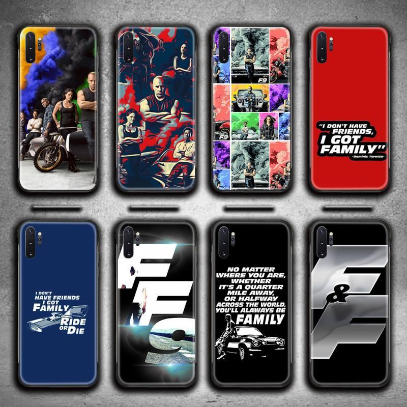Fast & Furious 9 Phone Case For Samsung Galaxy Note20 ultra 7 8 9 10 Plus lite M51 M21 J8 Plus 2018
