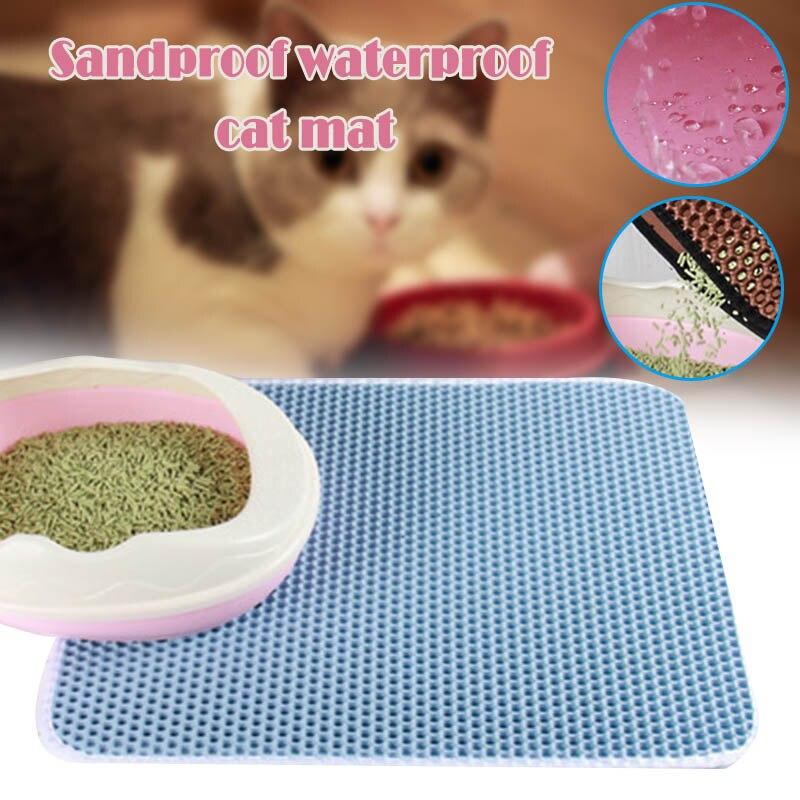 Alfombra de cama de gatos de doble capa resistente al agua para gatos domésticos, alfombra de cama plegable, alfombra multifuncional JS23