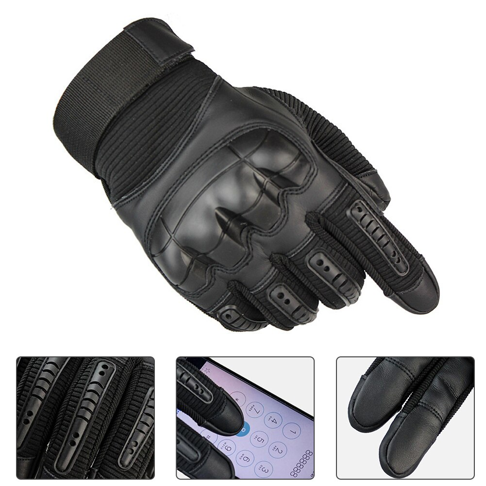 Full Finger Touch Screen Motorcycle Gloves Outdoor Breathable Powered Motorbike Racing Riding Cyclin