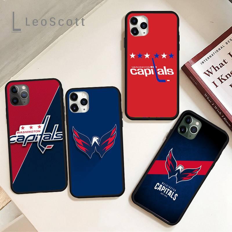 Washington hockey team badge Phone Case for iPhone 11 12 mini pro XS MAX 8 7 6 6S Plus X 5S SE 2020 XR
