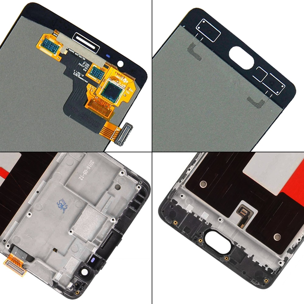 Original Display For OnePlus 3 3T Lcd Display Touch Screen Digitizer Assembly With Frame A3003 A3000 SM-A3000 Replacement Parts enlarge