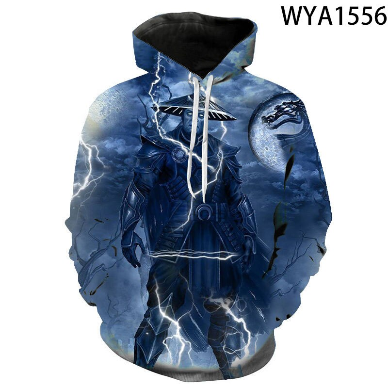 Filme mortal kombat 3d impresso hoodies das mulheres dos homens crianças moda camisolas streetwear pulôver menino menina roupas casuais casaco