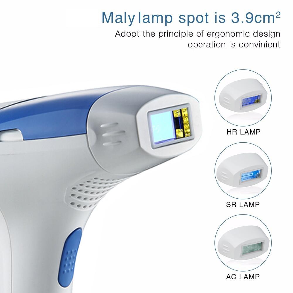 MLAY Laser epilator IPL Laser depilator 500000 Flashes Hair Removal Machine Hair Removal Home Use IPL Hair Removal Device enlarge