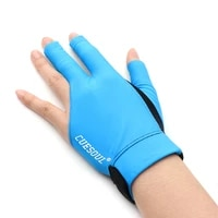cuesoul professional billiard gloves left and right anti slip latex rubber dot palm design in different size