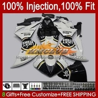 injection for yamaha yzf r1 1000 r 1 yzf1000 lucky white 124no 60 yzf r1 yzfr1 09 10 11 12 yzf 1000 2009 2010 2011 2012 fairing