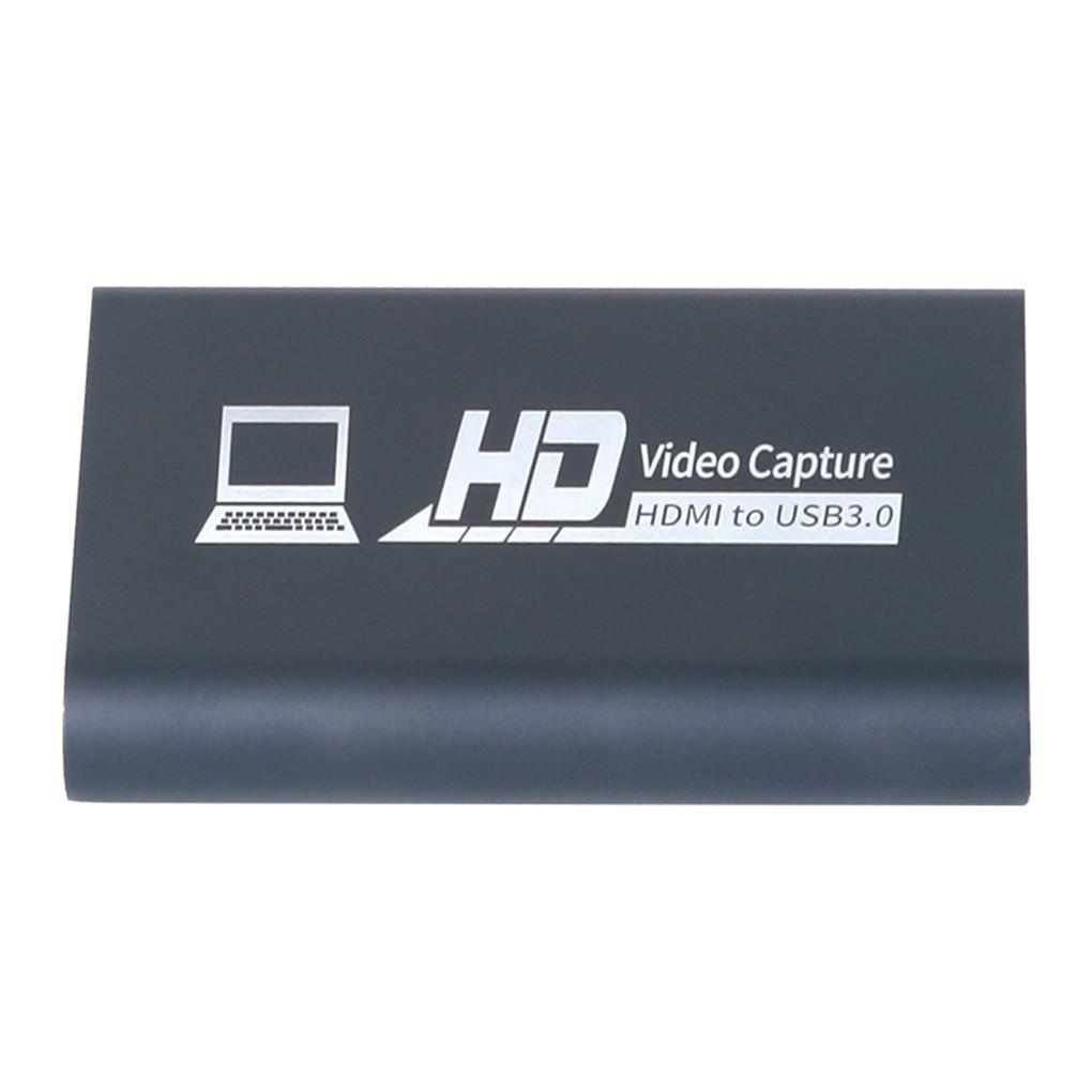 Tarjeta de captura USB 3,0, grabador de vídeo para conferencias en tiempo Real, dispositivo grabador de vídeo y Audio