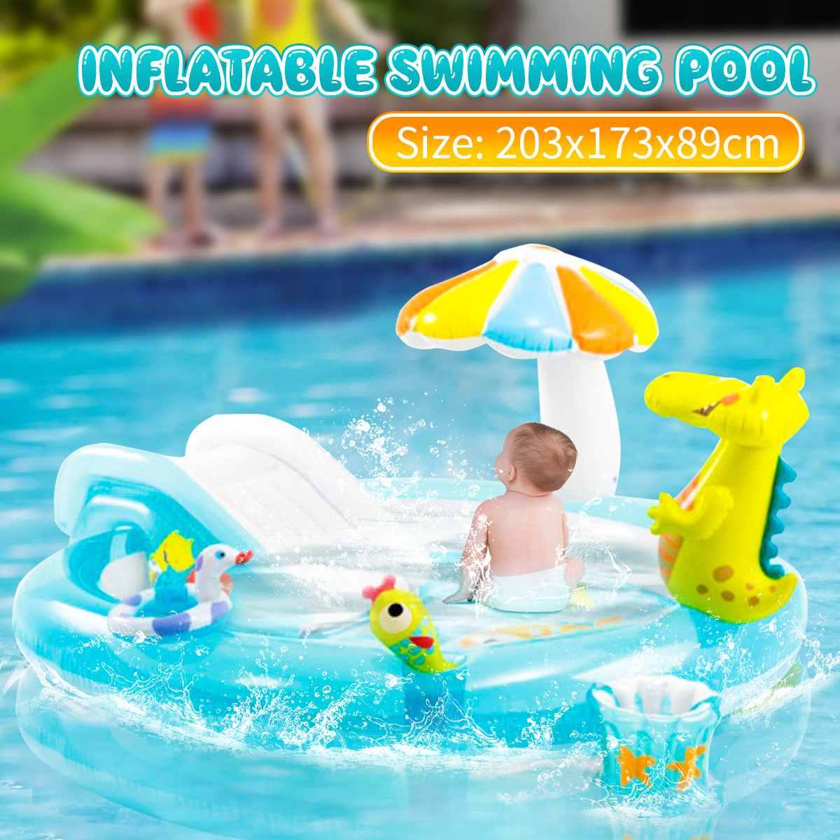 Piscina inflable para bebés, flotador, colconetas