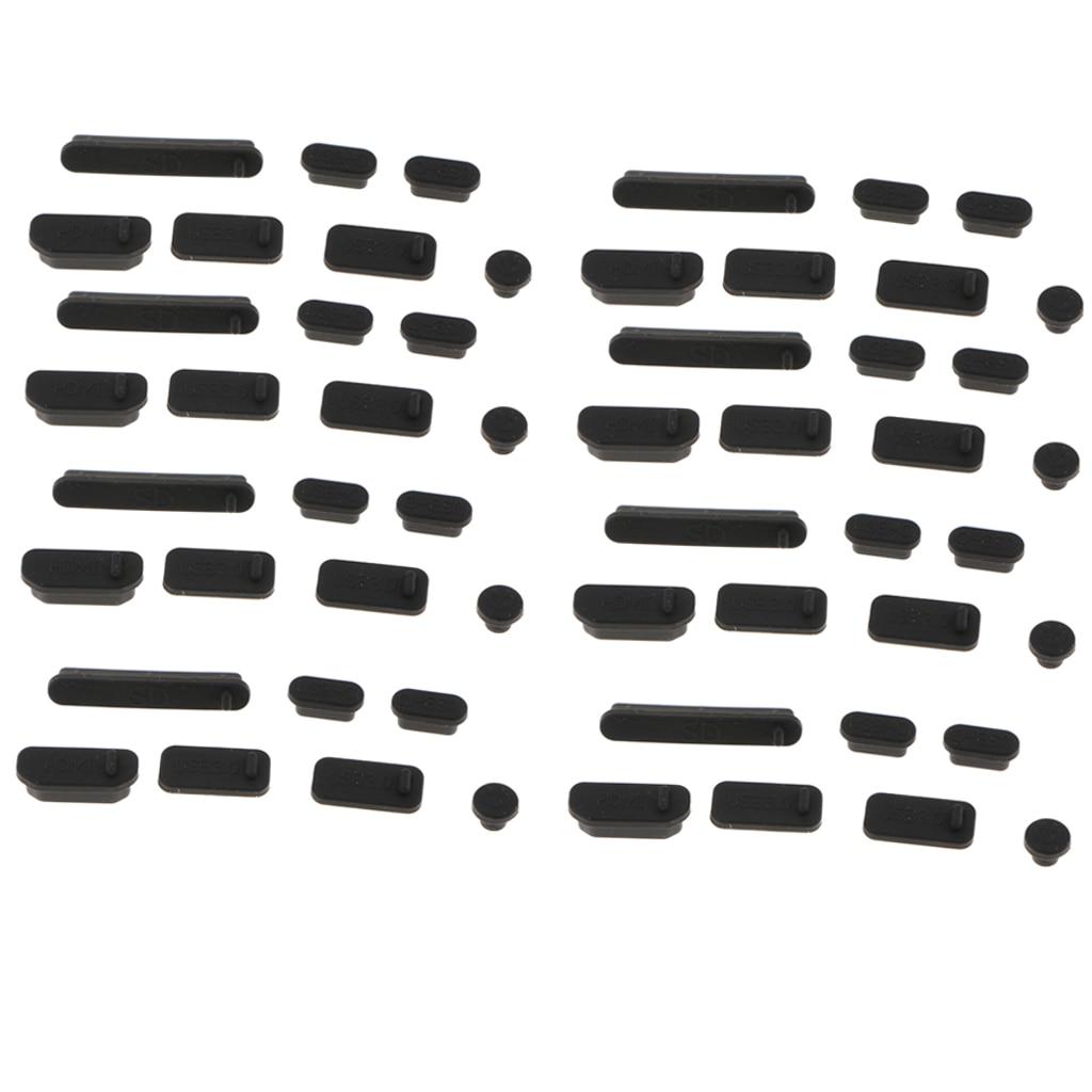 8 bloco silicone anti-poeira rolha/plug conjunto para ar 12.5/13.3, pro 15.4