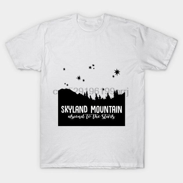 Camiseta Hombre skyland montaña (negro) x archivos camiseta mujer camiseta
