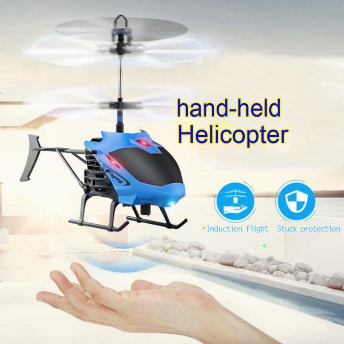 D715 mini helicóptero de indução aeronaves controle remoto rc drone com luz flash gesto helicópteros indução modelos