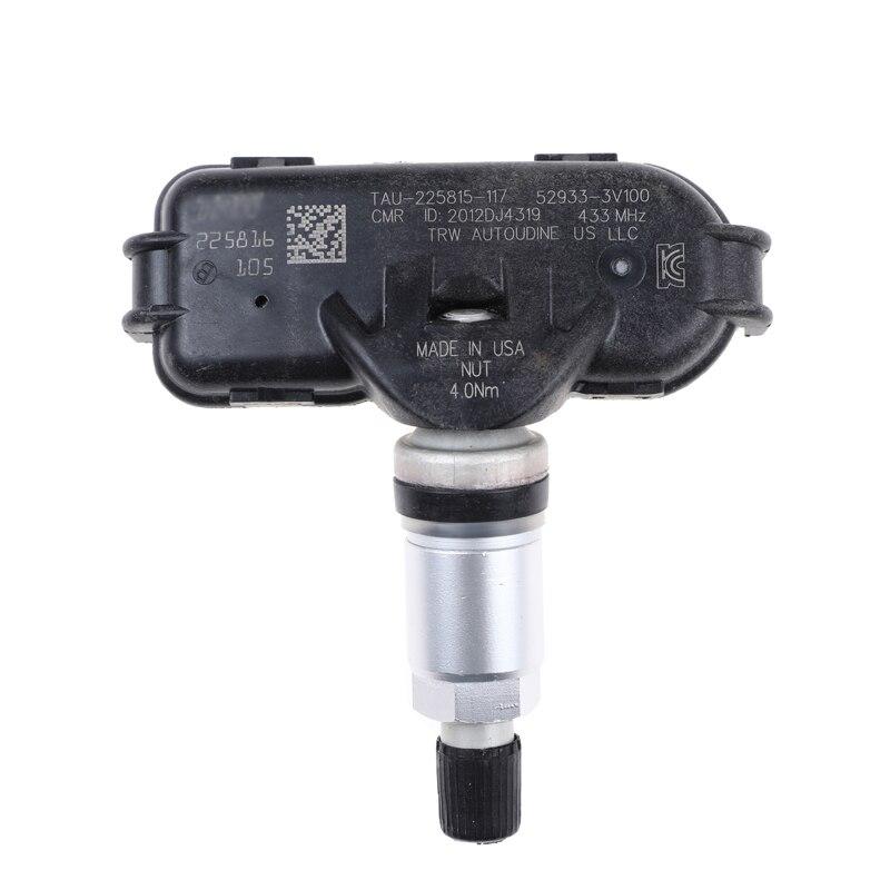 52933-3V100 TPMS otomatik lastik basıncı monitörü sensörü 529333V100 433Mhz Hyundai i40 VF 2011 2012 2013 2014 sensörü TPMS