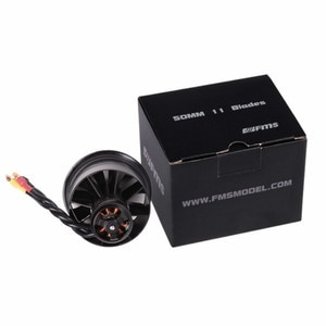 FMS 50mm 11-Blades Ducted Fan EDF With 2627 5400KV 3S 4500KV 4S Brushless Motor for RC Airplane Ducted Fan Plane DIY Parts