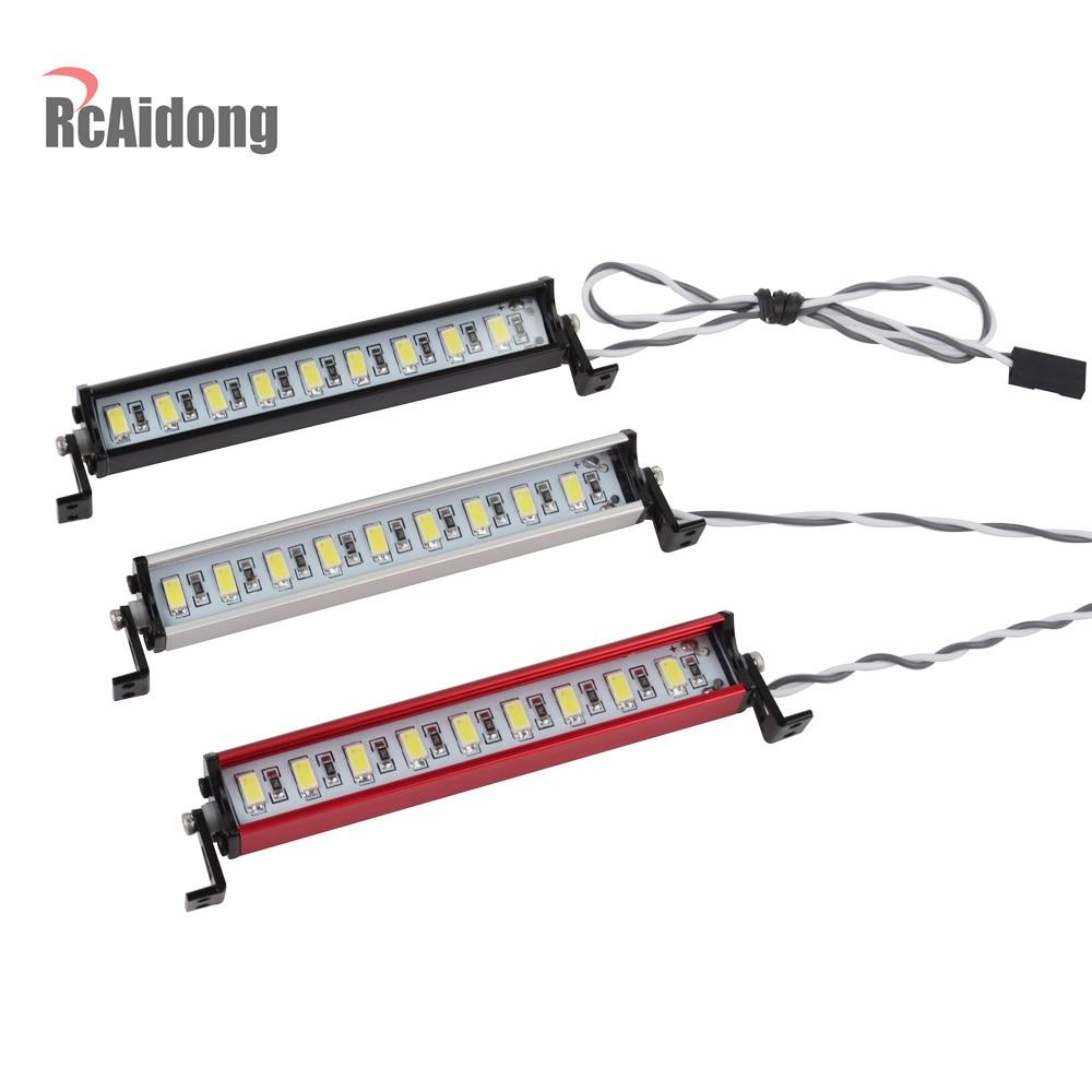 1/10 RC Crawler de 9, barra de luz LED Kit de Traxxas Trx4 TAMIYA CC01 Axial SCX10 D90 D110 90046