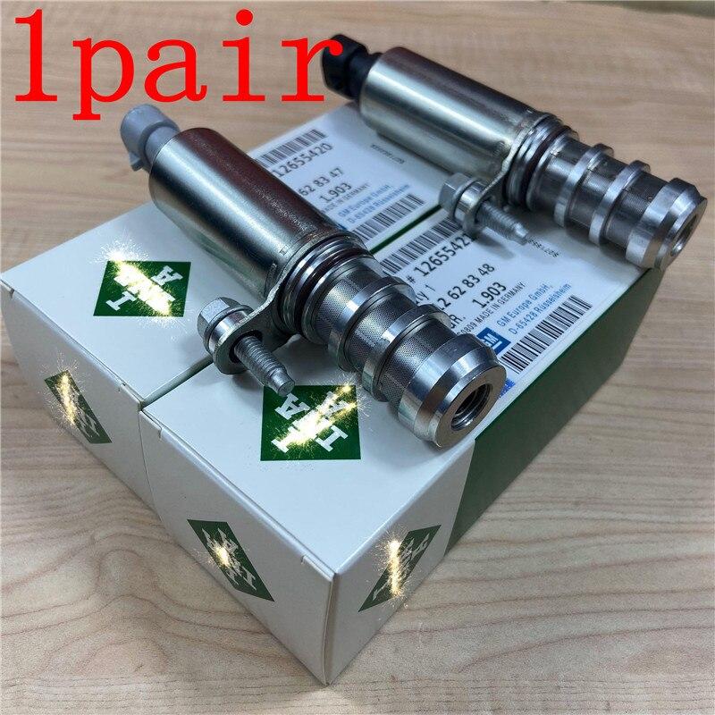 Válvula Solenoide de árbol de levas, Control de aceite, sincronización VVT para chevrolet-captiva Buick- Malibu 12628347 12628348 12655420 12655421