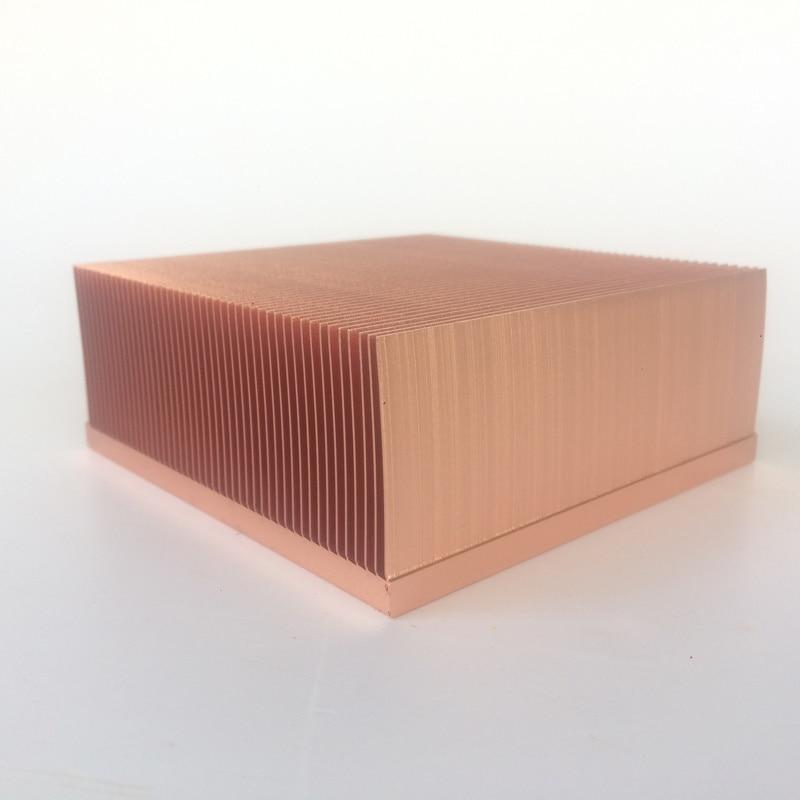 100x100x40mm High-power computer heat sink Power electronic radiator Machine radiator