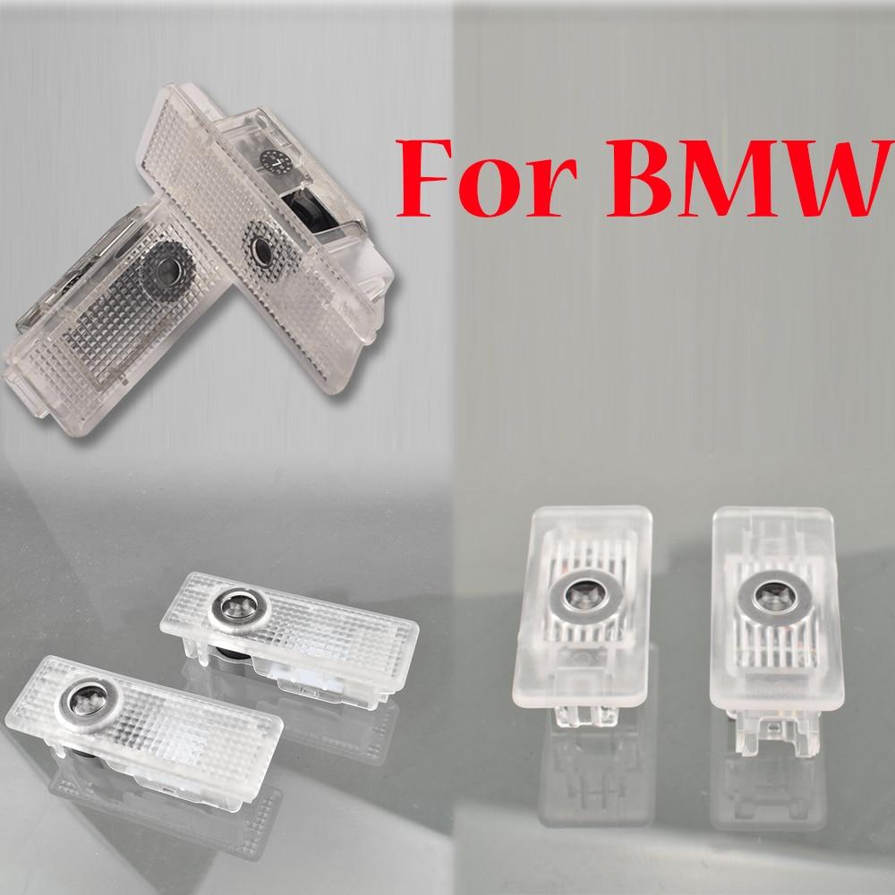 Para BMW E53 E39 E52 528i serie 1 2 3 4 5 6 7 8 M8 G20 G29 Z4 E84 E83 F25 E65 E60 E63 F20 F22 F30 G32 G11 Luz de logotipo de puerta de coche