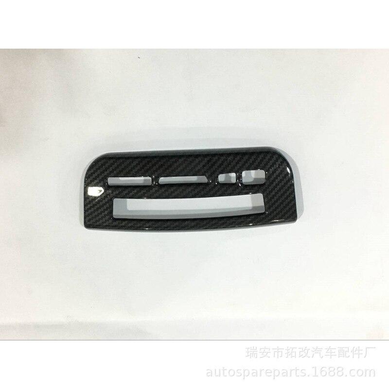 Togox producto genuino 4S para gran pared WEY VV5 grano de fibra de carbono en salida de aire decoración marco decoraciones barra de luz