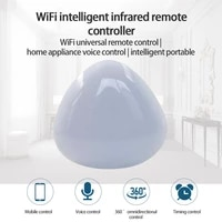 Telecommande infrarouge intelligente  controle omnidirectionnel a 360    par telephone Mobile  application intelligente Tuya  prise en charge de Google Home  Alexa  IFTTT
