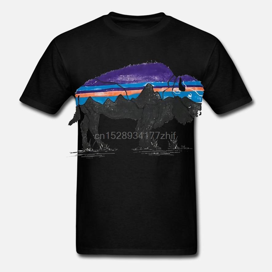 Camiseta Fitz Roy Bison responsibili-tee para hombre