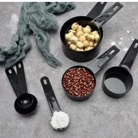 510pc plastic measuring cup measuring spoon measuring bowl set for offee sugar cake baking measuring kitchen cooking tools