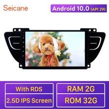 Seicane Android 10.0 API 29 voiture GPS Navi Radio 2GB RAM lecteur multimédia pour 2016 2017 2018 Geely Boyue soutien Carplay TPMS DVR