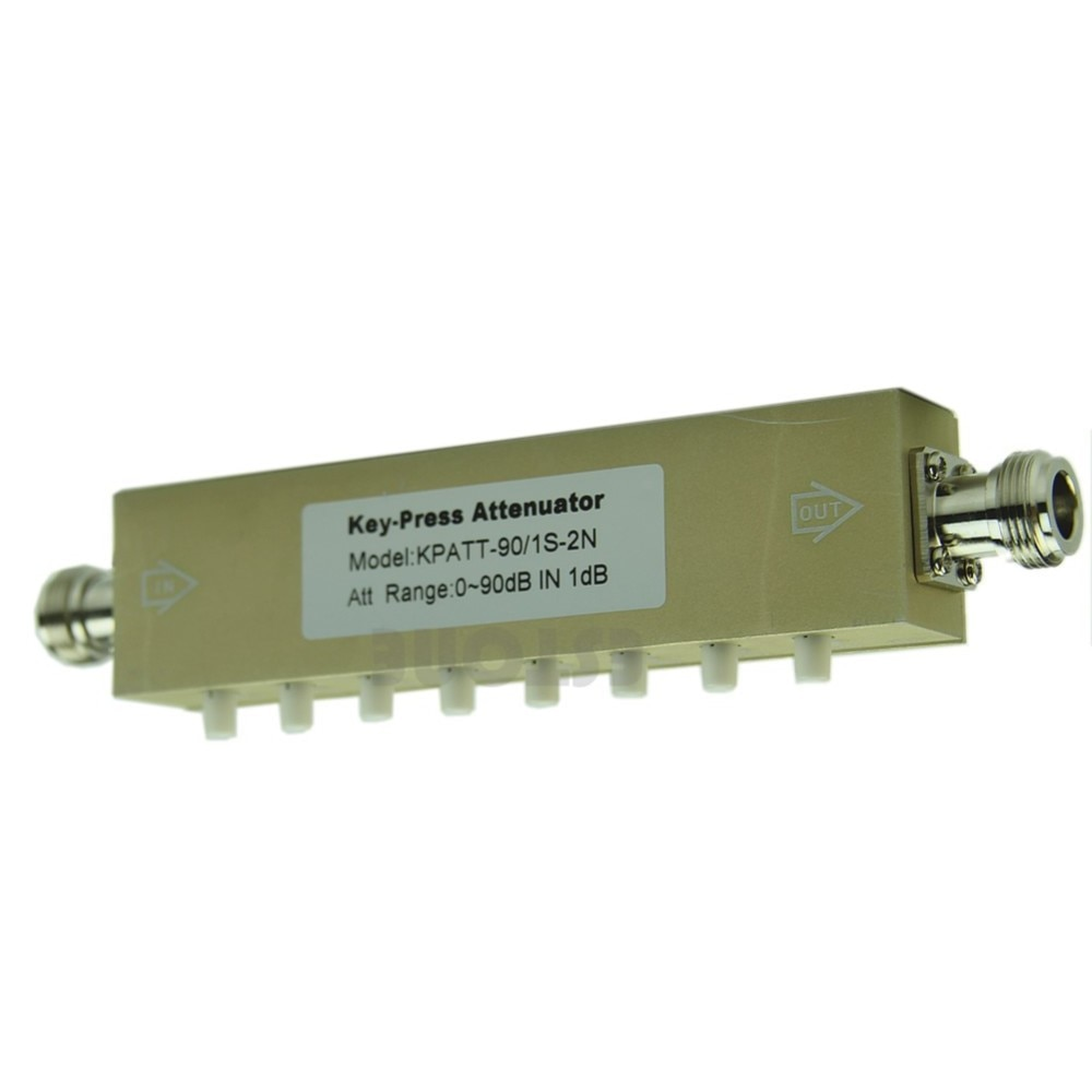 atenuador ajustavel variavel sma n 0 30db 60db 90db dc 25ghz 50ohm rf passo chave