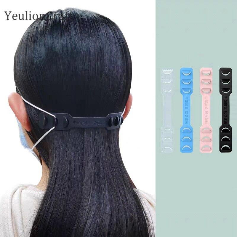 YeulionCraft 146mm Ohr Haken Strap Halter Erweiterung Protector Clips Für Tragen Masken Anti-slip Ohr Erweiterung Schnallen Diy nähen