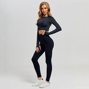 2 pieces gym set workout clothes for women vital seamless yoga 2 piece set gym outfits fitness clothing for women sportswear