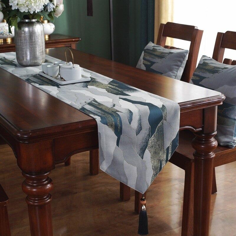 مفرش طاولة خفيف الوزن على الطراز الصيني ، مفرش طاولة مستطيل ، أغطية خزانة أحذية ، ديكور حفلات الزفاف