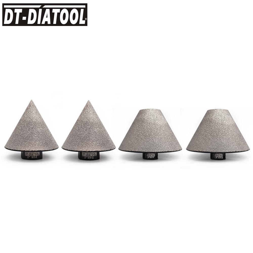1pc Dia 50/82mm Vacuum Brazed Diamond Chamfer Milling Bits for Tile Ceramic for Bevelling Holes Trimming 5/8-11 or M14 Thread
