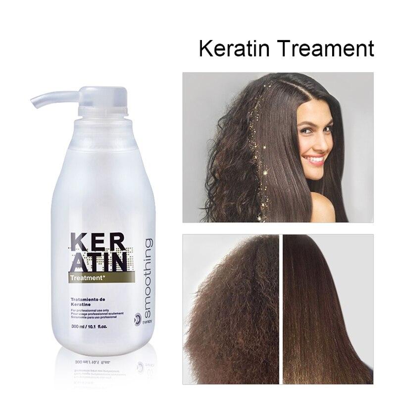 Tratamiento del cabello de queratina alisado reparación del cuidado del cabello rizado champú brillante dañado Formalin 5% tratamiento de queratina Chevaux queratina