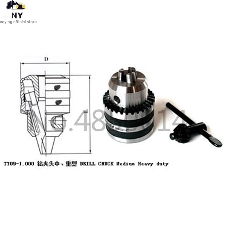 Precision morse cone MT2 B16 MT3 MT4 B10 B12 B16 B22 Heavy Duty Drill Chuck 0.6-6mm 3-16mm 1-13mm 1-10MM Taper Arbor CNC machine