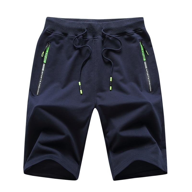 2021 пляжные шорты, мужские спортивные брюки, модные летние мужские трикотажные спортивные брюки, хлопковые повседневные шорты, пляжные брюк...