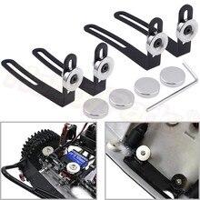 4 stuks RC Crawler Body Shell Magnetische Body Mounts Post Metalen L-Beugel met Magneet voor 1/10 RC Auto axiale SCX10 90046 90047 D90