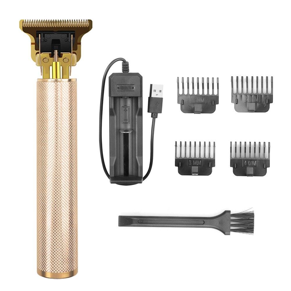 Portable Baldheaded Hair Clipper Electric Hair Trimmer Cordless Shaver Razor 0Mm Men Barber Hair Cut