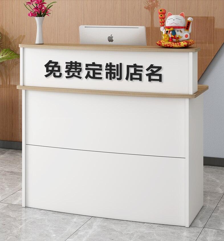 Простой современный кассовый аппарат приема счетчик магазин счетчиков небольшой компании стойка письменный стол магазин одежды Супермарк...