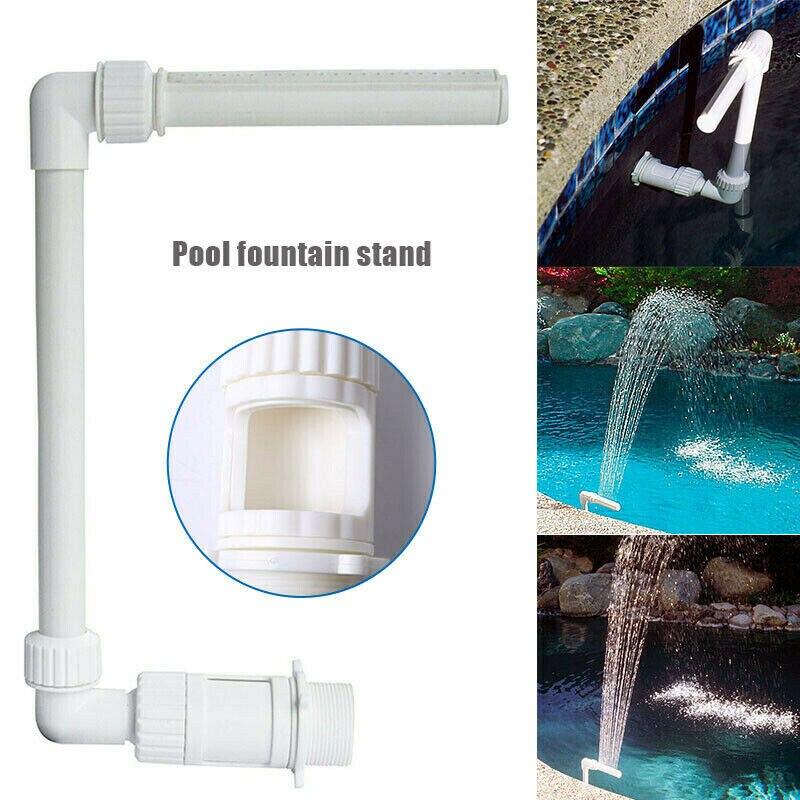 El más nuevo Set de fuente de catarata para piscina, boquilla de tubo de fuente de PVC, Kit de cabezal, accesorios de piscina para piscinas, decoraciones de Spa