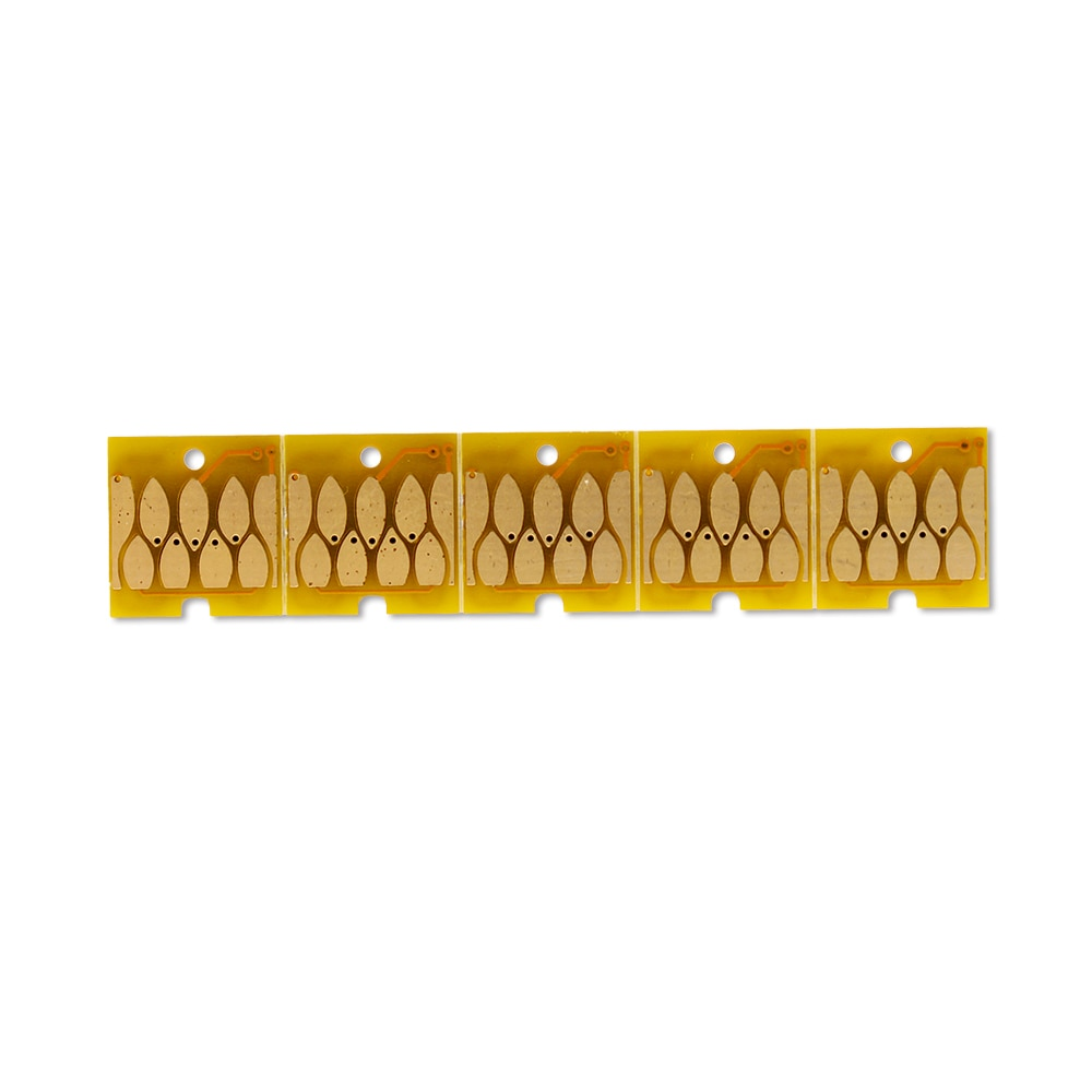 5 uds. Chips estables de arco permanente T6193 para tanques de mantenimiento Epson, tanques de residuos de tinta para impresoras T3000 T5000 T7000 T3200 T5200