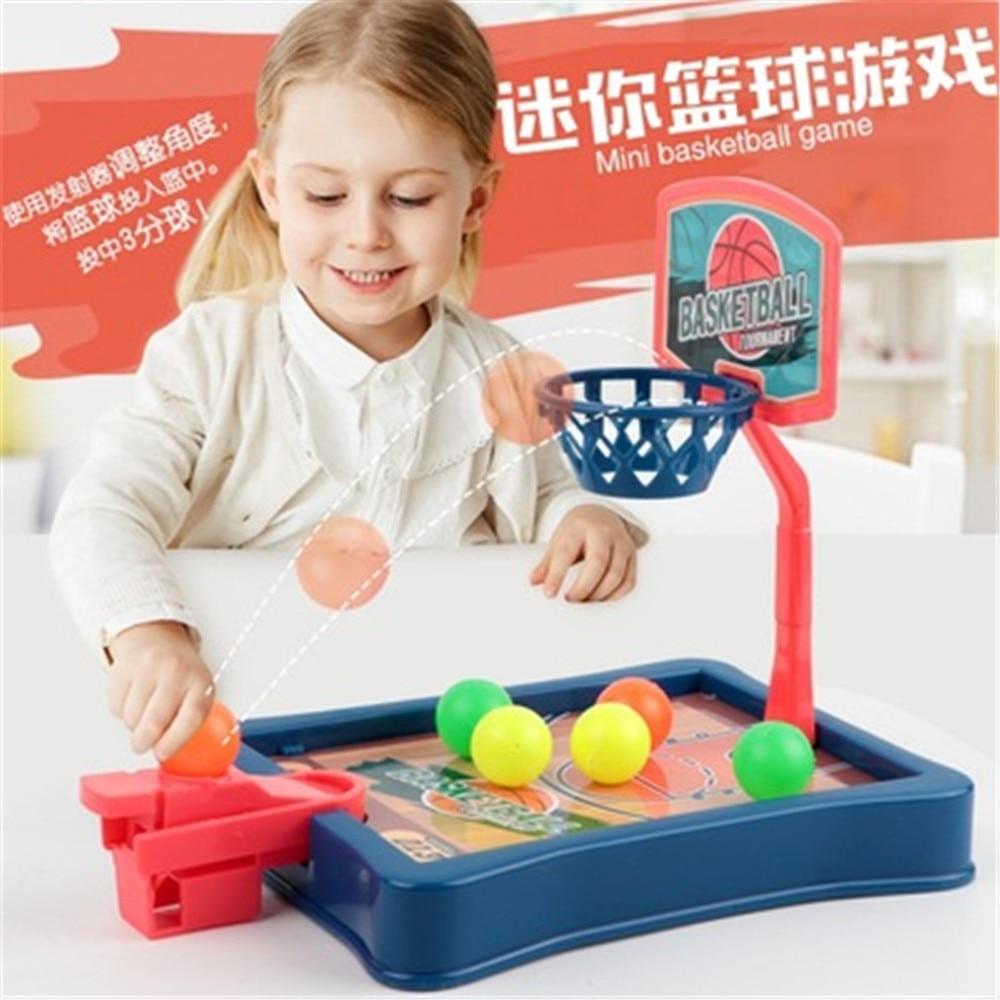 Детские игрушки для мальчиков мини баскетбольная площадка для стрельбы игрушки детские развивающие игрушки для всей семьи детские спортив...