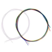 4 pcs set white pure strigning for ukulele guitarra bass guitar string parts accessories strings for acoustic guitars