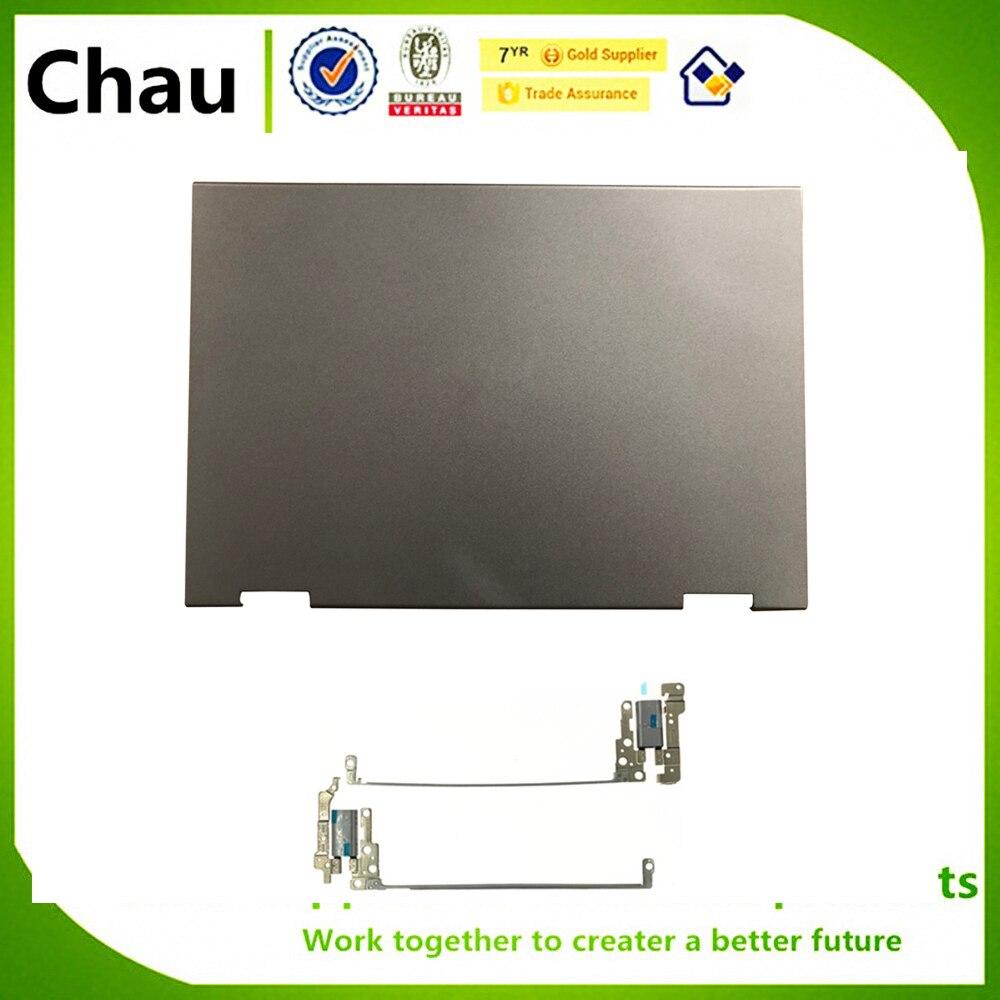 Chau nuevo para Dell Inspiron 13MF 5000 5368 5378 LCD tapa trasera y bisagras LCD 0h2fy HH2FY 460.07R03.0024