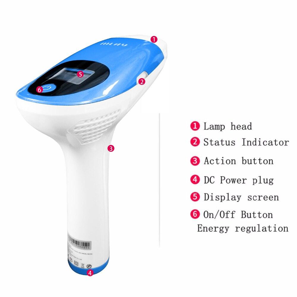 Laser Mlay Epilador Laser Hair Removal Machine Professional Laser IPL Hair Removal Device Permanent Electric Epilator for Women enlarge