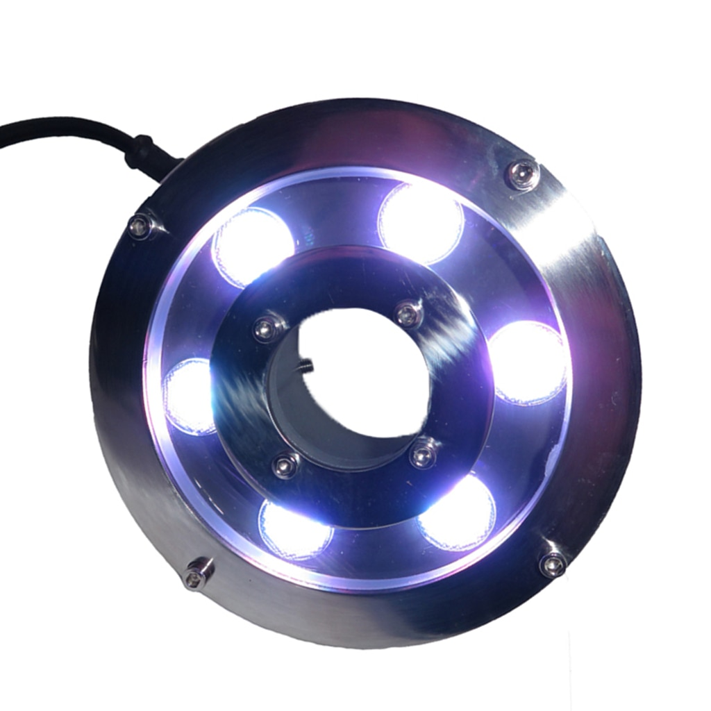 lampada de fonte led 6w 9w 18w dmx512 24v ip68 iluminacao decorativa de paisagem
