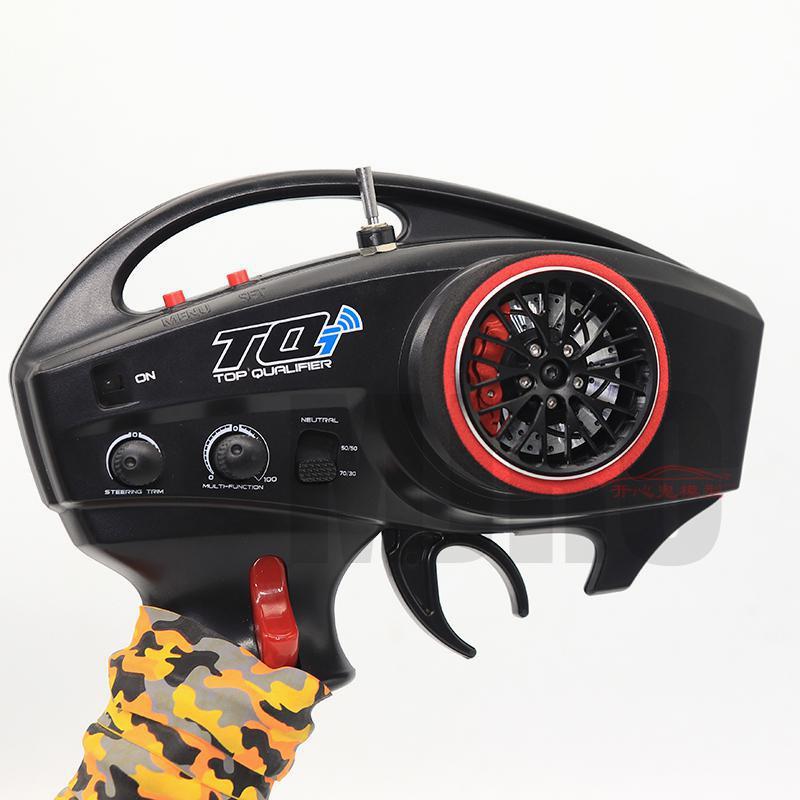 AJRC Metal remote control handwheel for TRAXXAS X-maxx Summit E-revo Slash TRX-6 TRX-4 TQI remote control enlarge