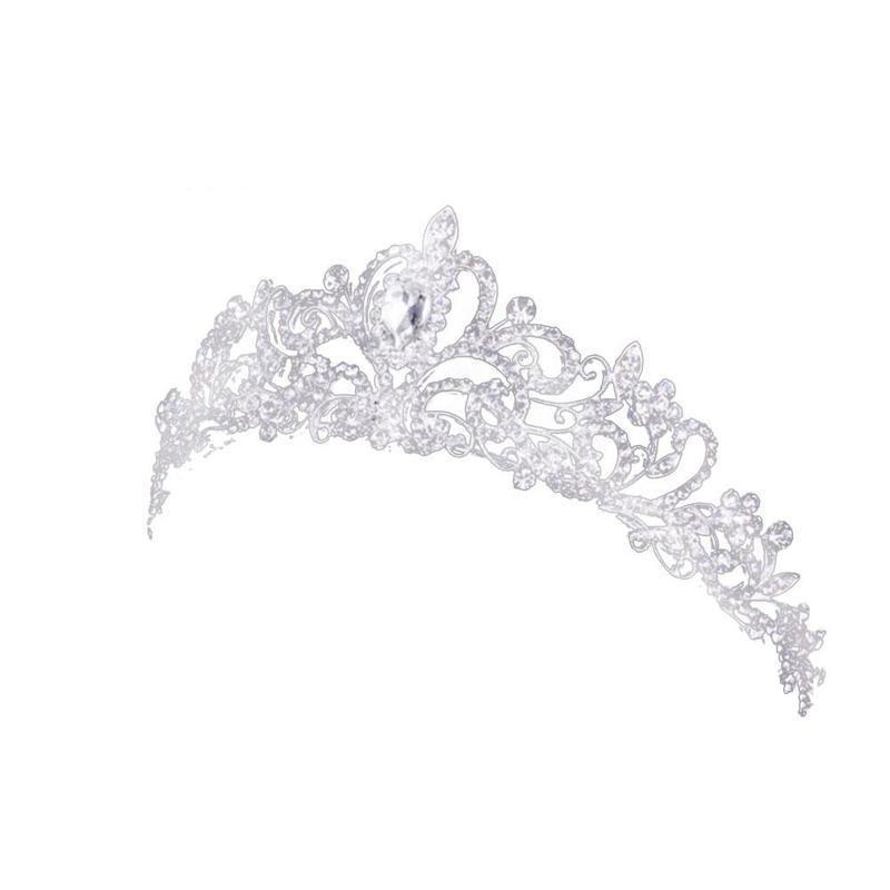 Corona de novia coreana, peineta de princesa, accesorios para el cabello, gran oferta, tocado de aleación de diamante, venta directa de fábrica